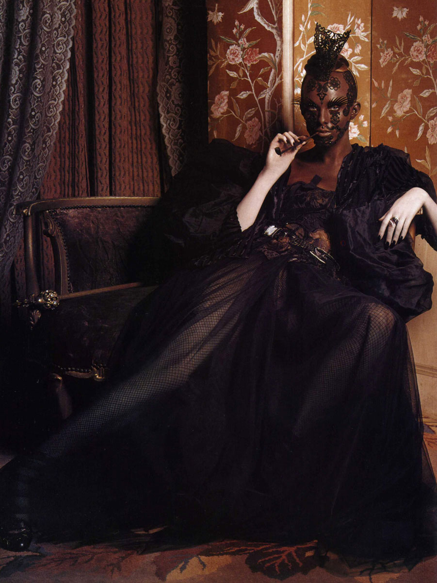 Karen Elson in Mad-magic-magnificent | Vogue Italia March 2004 (photography: Steven Klein) via fashioned by love