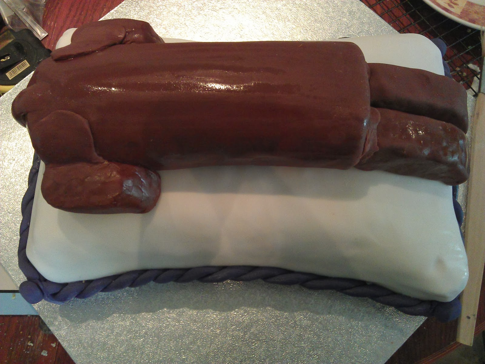 The BaKerry: Sausage Dog on a Cake