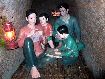 Musée tunnels de Vinh Moc