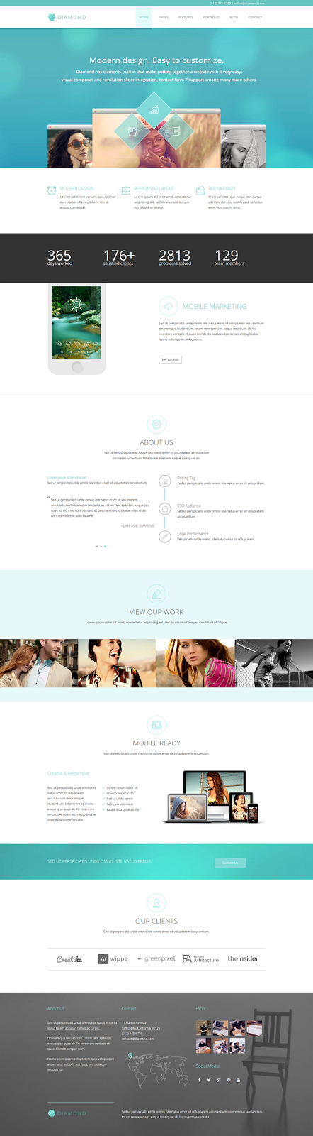 Responsive Business Website Theme
