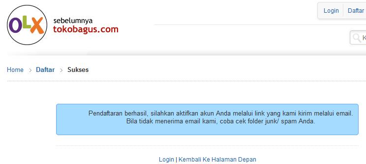 Cara Mendaftar Menjadi Penjual / Member di OLX.co.id (Tokobagus.com)
