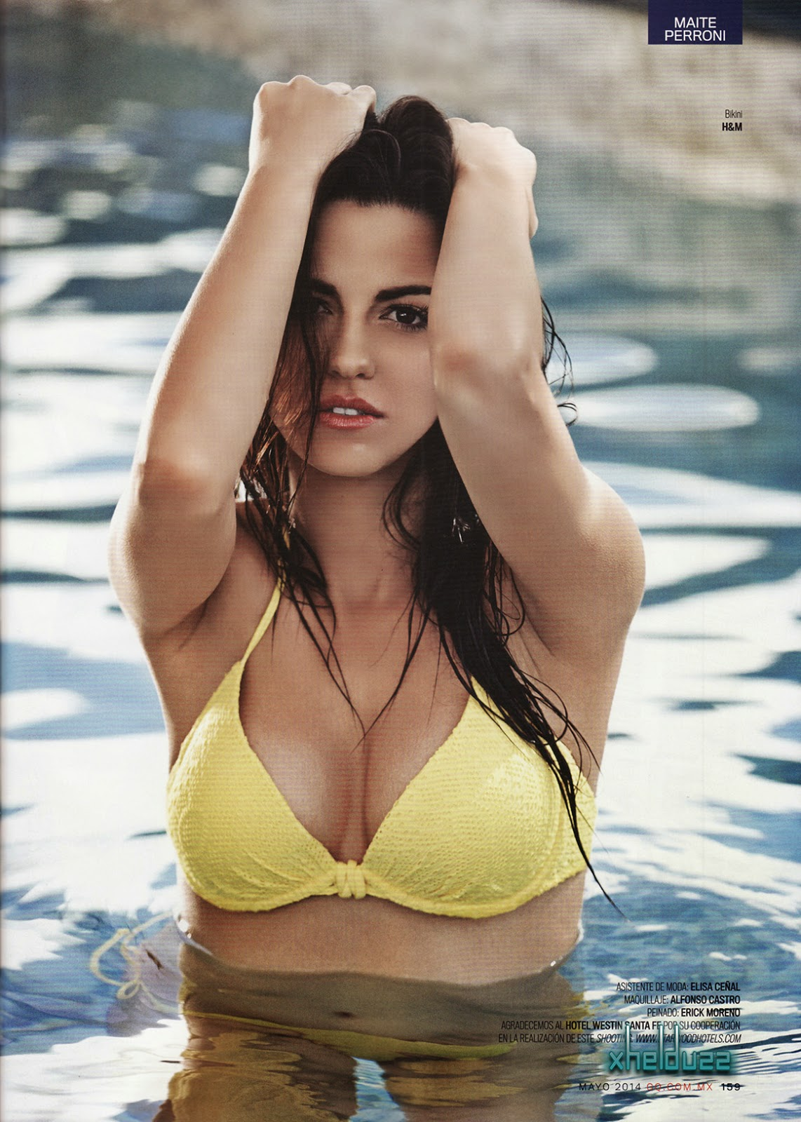 Maite Perroni For GQ Magazine, Mexico, May 2014