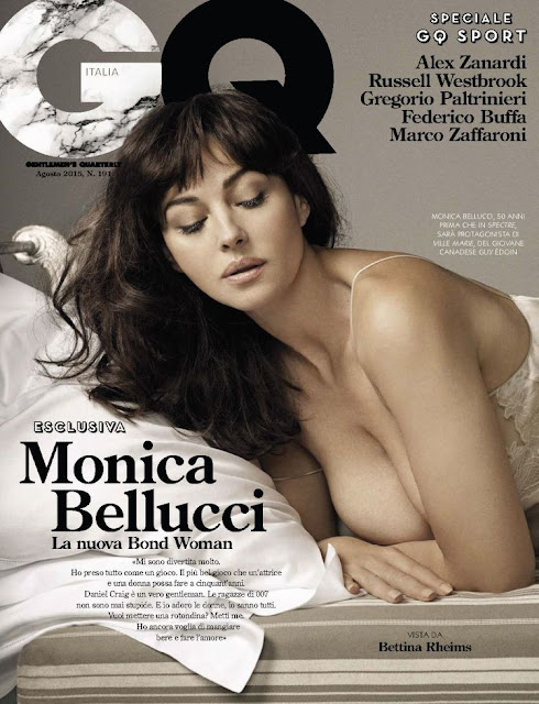 Monica Bellucc - GQ Italy, August 2015