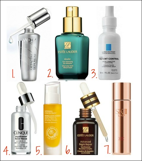 Idea The best facial serum