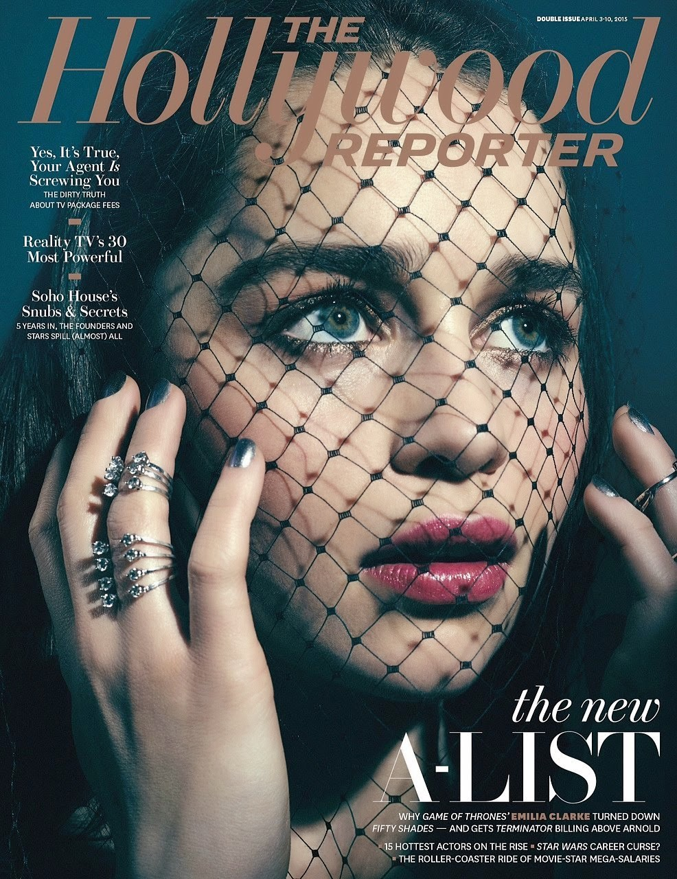 Actress @ Emilia Clarke - The Hollywood Reporter, April 2015