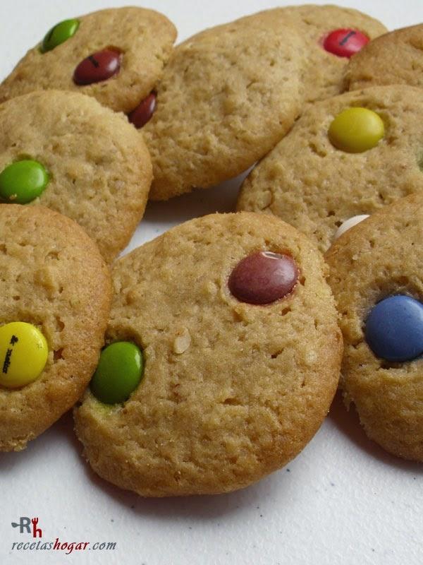 Cookies de lacasitos-varias juntas