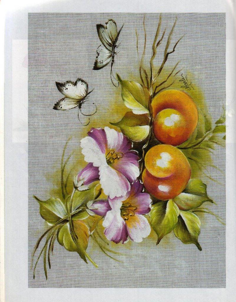 Pintura en tela - Dibujos para pintar en tela ...