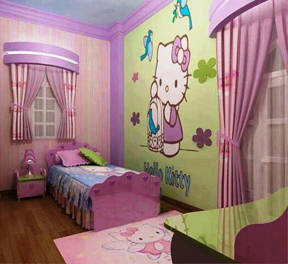 Hello Kitty Bedroom Decorations Inspiring