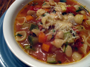 Tuscan Minestrone Soup-Healthy and Delicious!
