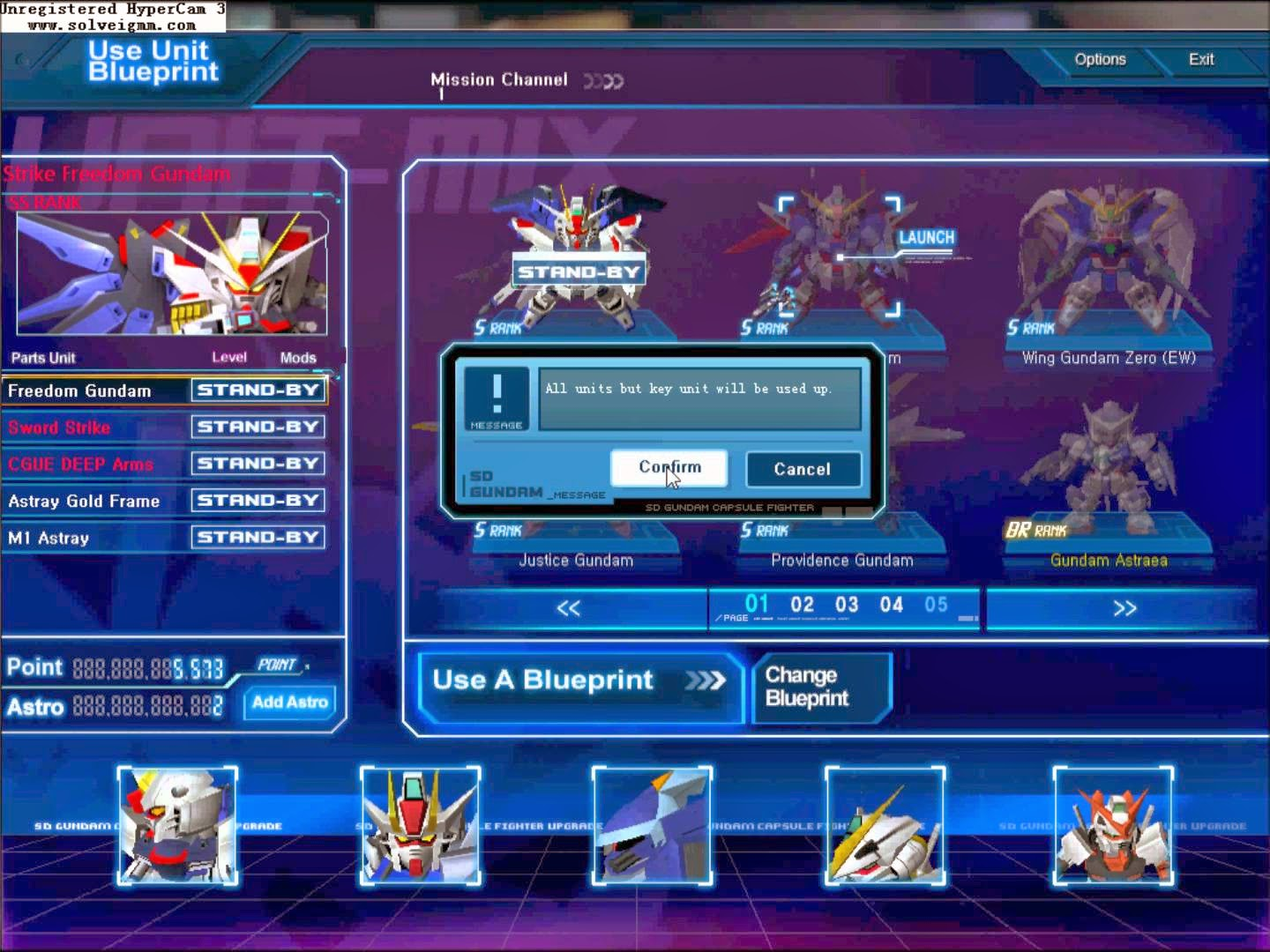SD Gundam Capsule Fighter Online Online Gameplay
