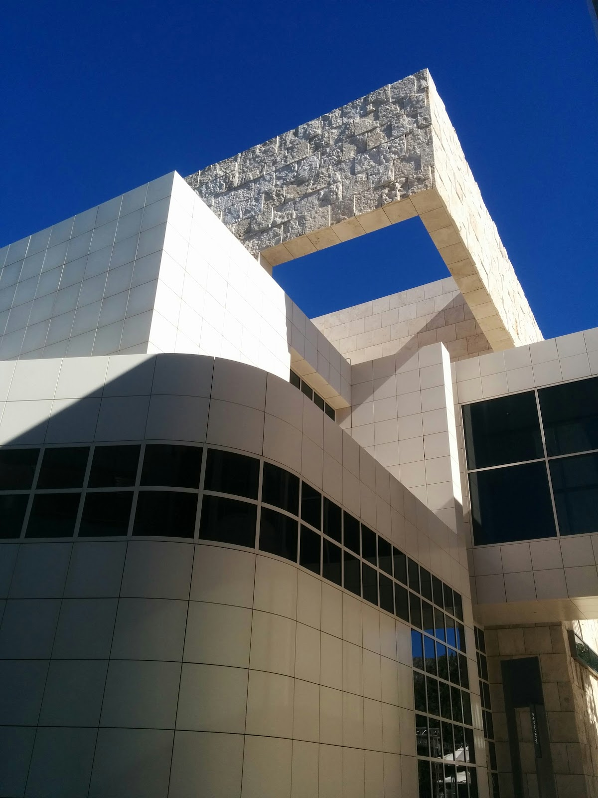 """This photo brought to you by """"WTF Richard Meier.""""  Also by """"Masonry… In… Spaaaaace."""""""