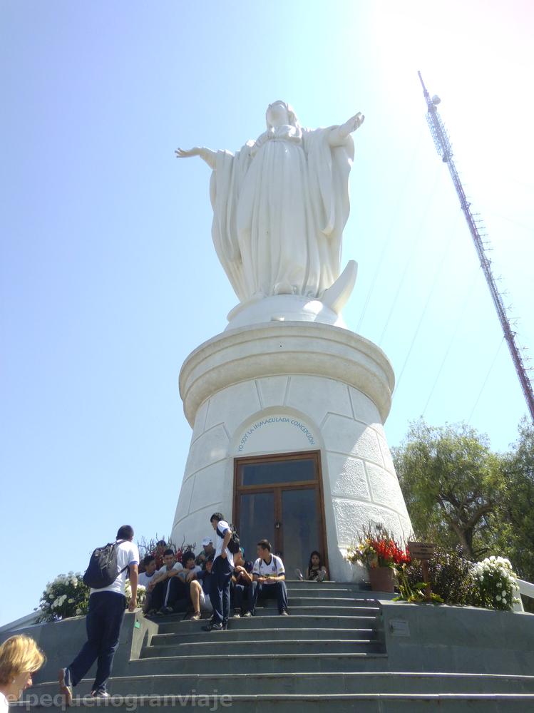 Santiago de Chile, Chile, Virgen,cerro