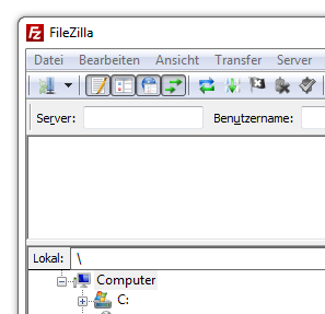 Freeware Client FileZilla