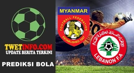 Prediksi Myanmar vs Lebanon