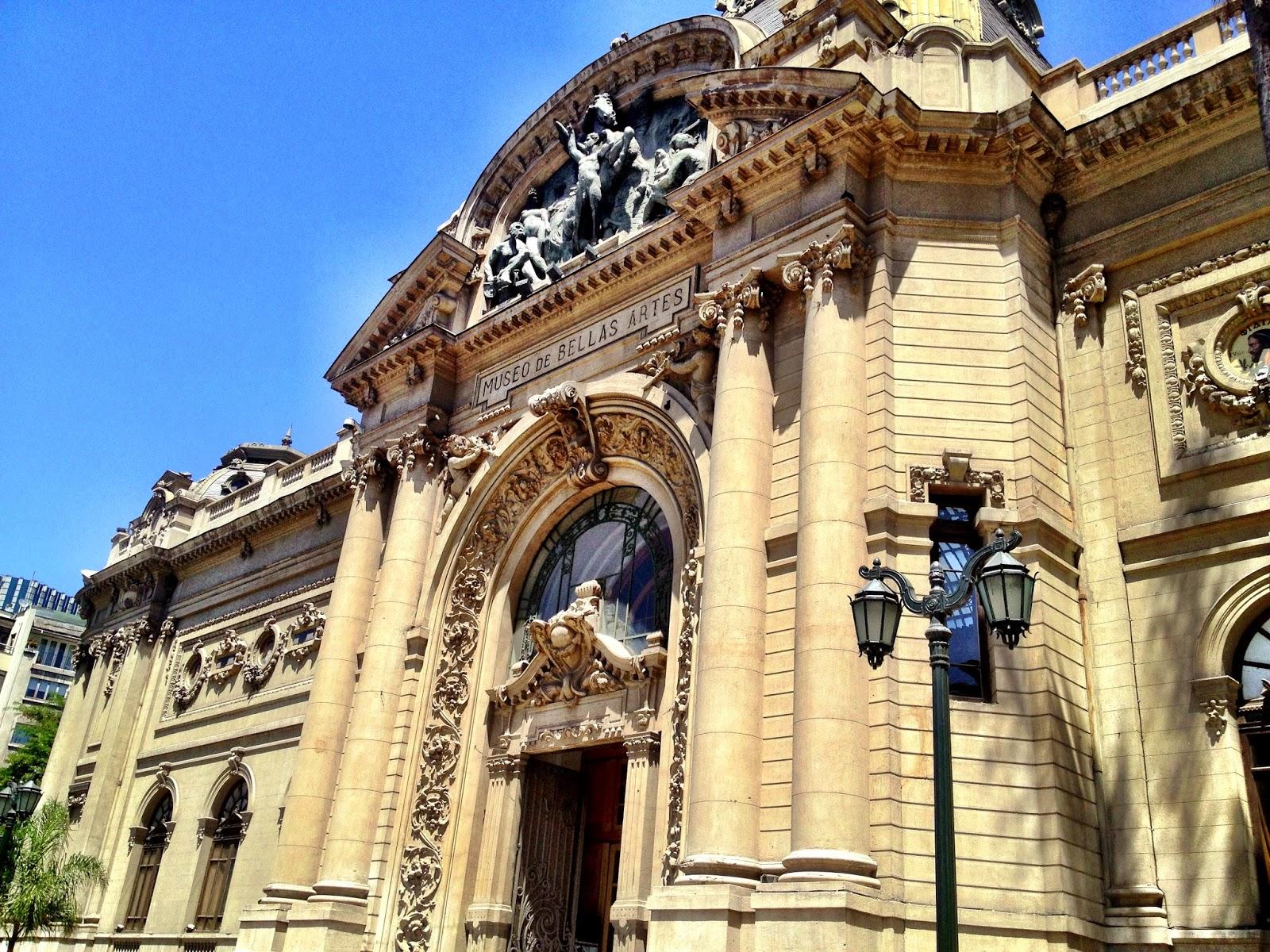 Museo de Bellas Artes, Santiago