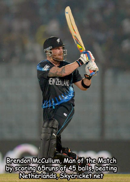 New Zealand beat Netherlands in T20