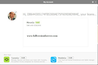 free download mirrorgo for android serial key