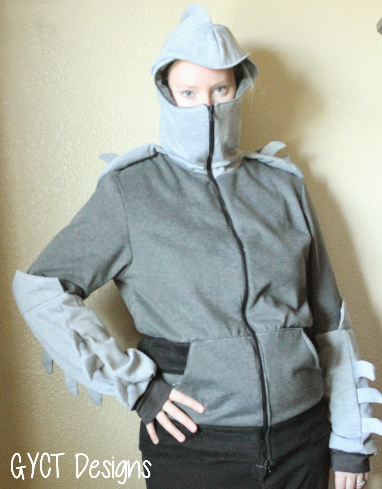 Shredder Costume with Knight Hoodie by GYCT