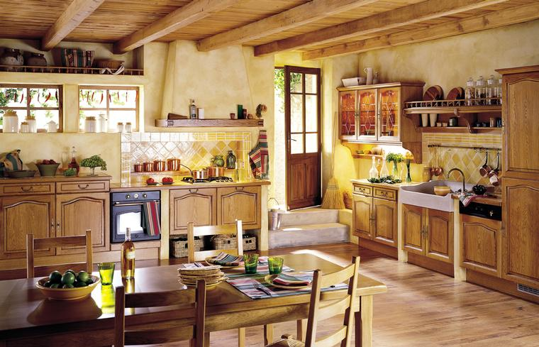 Warm Country Kitchen Collection - Home Designs