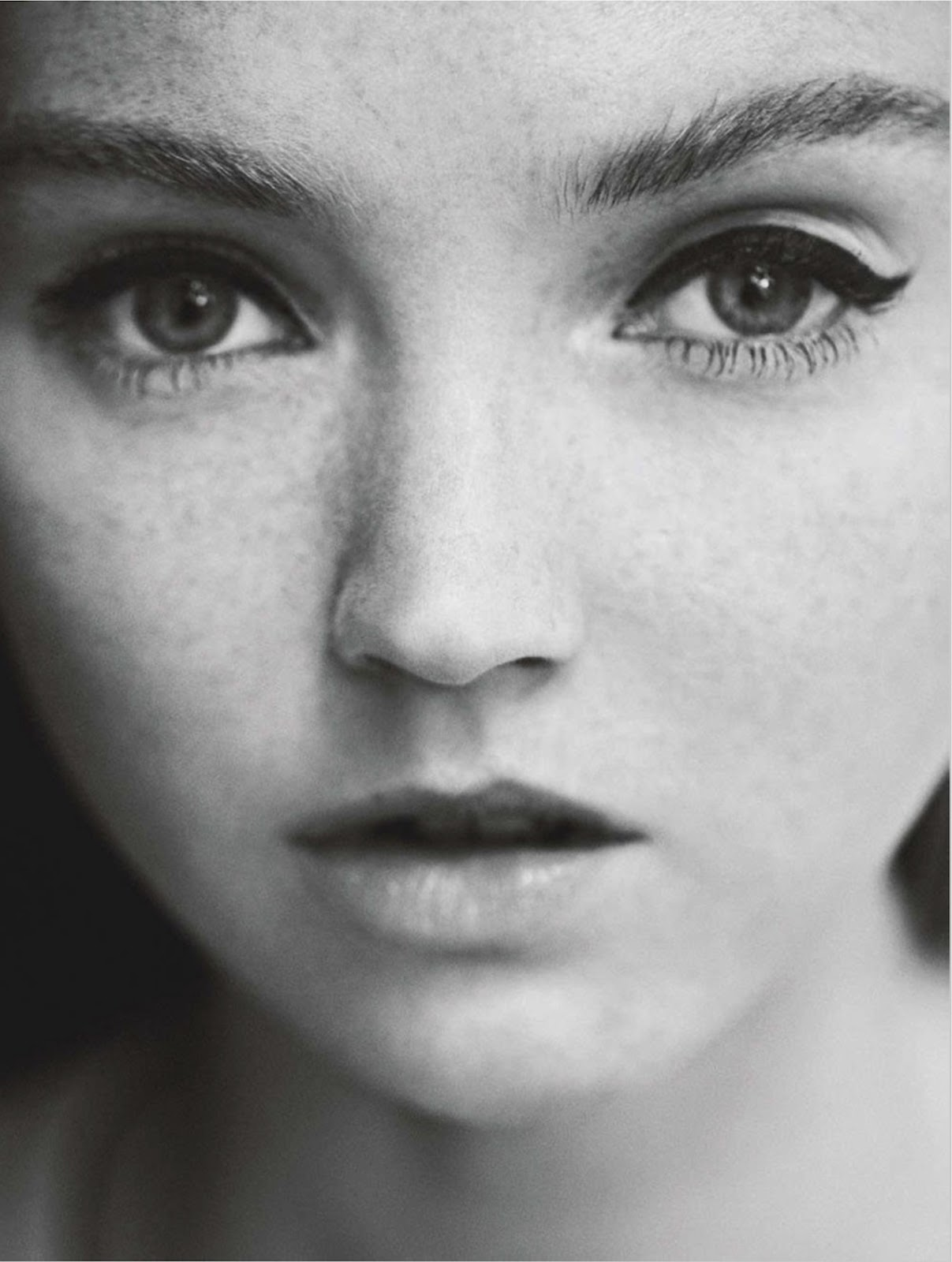 lily cole by chris craymer