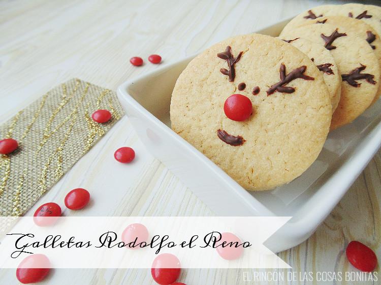 galletas navideñas reno rodolfo