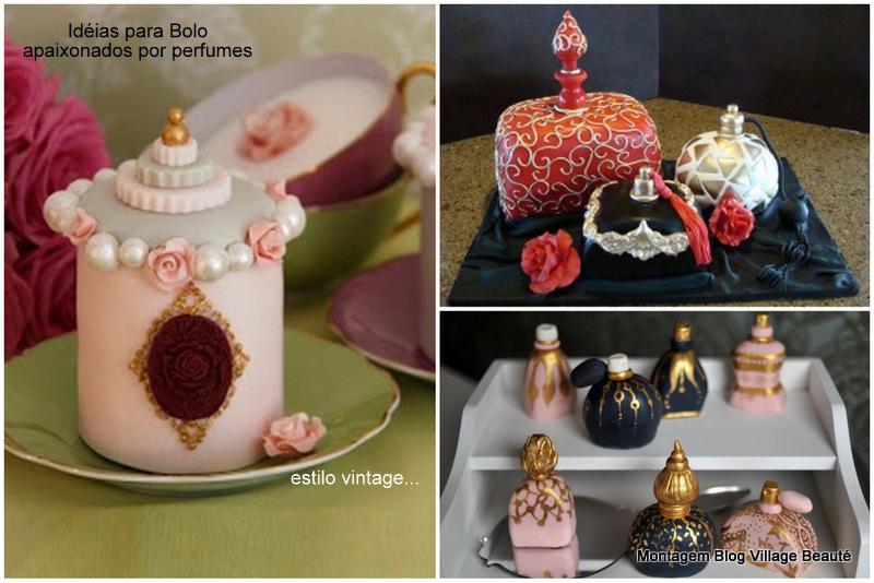 PERFUME VINTAGE CAKE