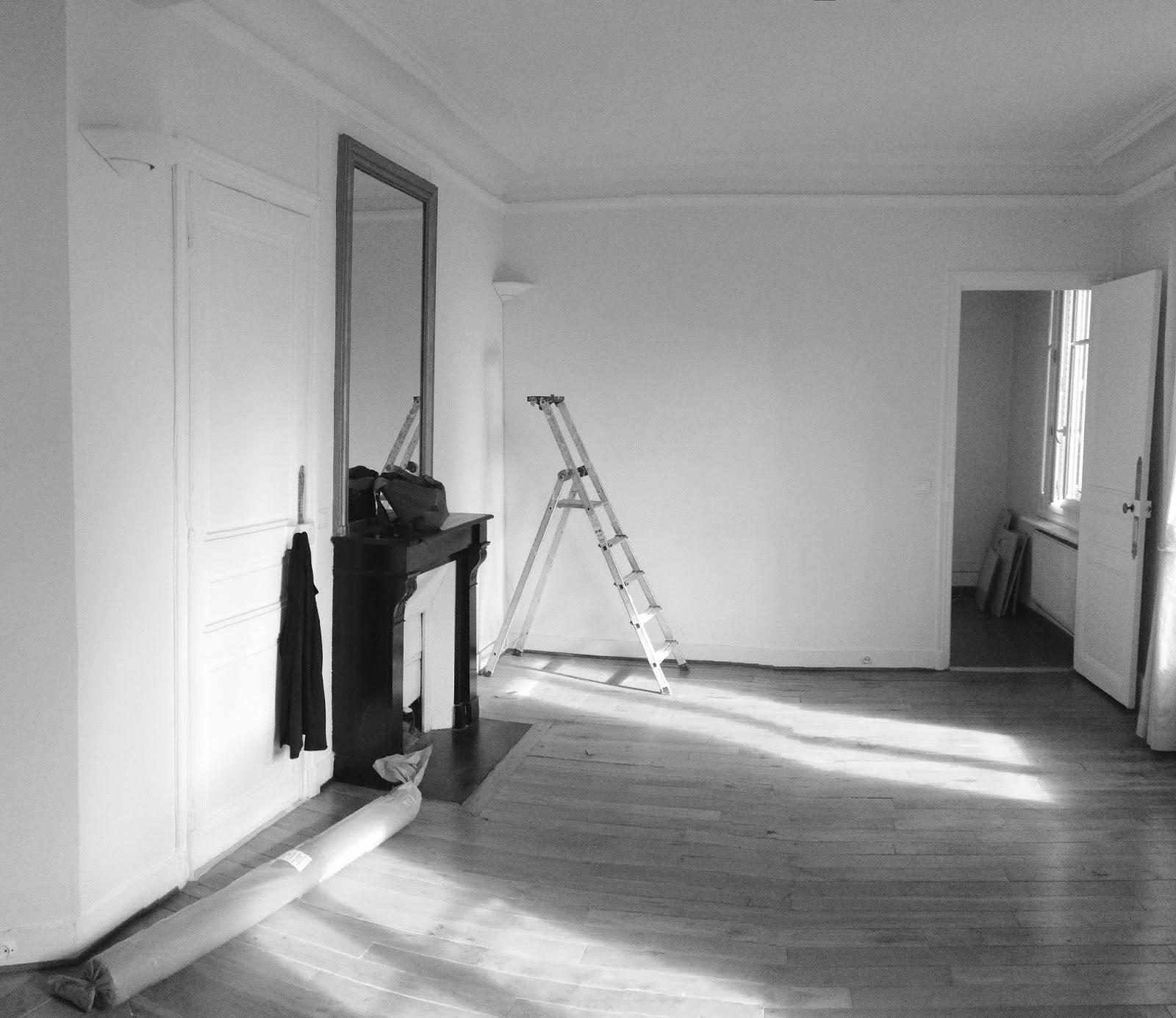 Création d une trémie et d un escalier entre un appartement et une