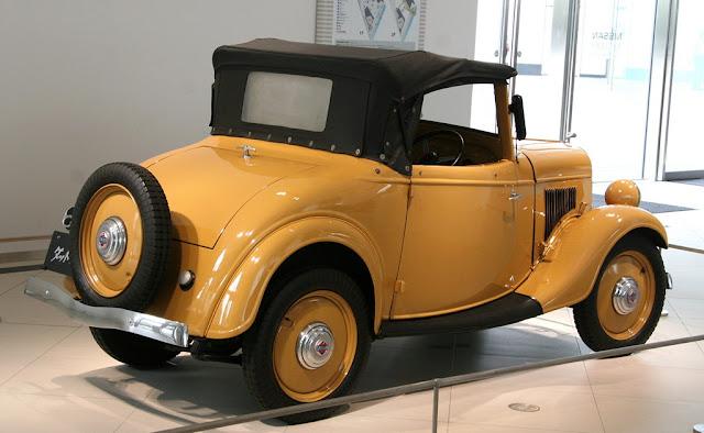 Datsun 14, stary japoński samochód, klasyk 日本車 ダットサン