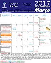 Calendário de Março