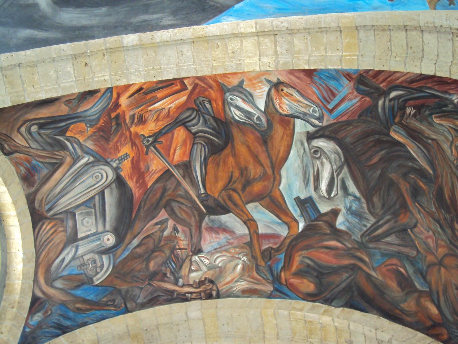 La cara opuesta de la luna for El mural guadalajara jalisco