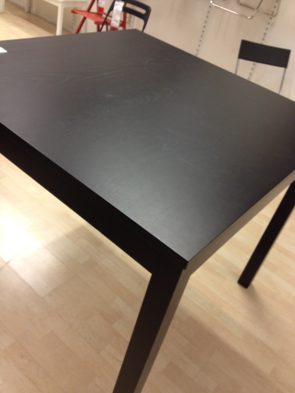 OMTIAMT SOLD IKEA Bjursta Bar Dining Table Brown Black