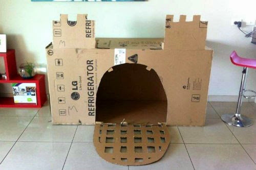 Palace From Boxes Fort