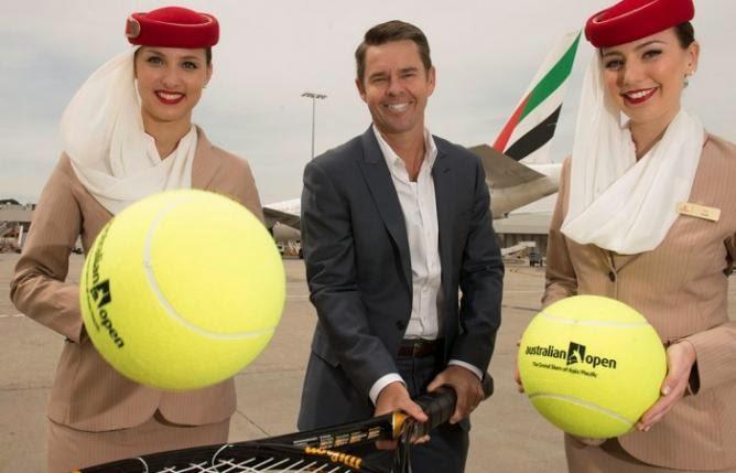 Presentación del acuerdo Emirates con el AUS Open de Tennis