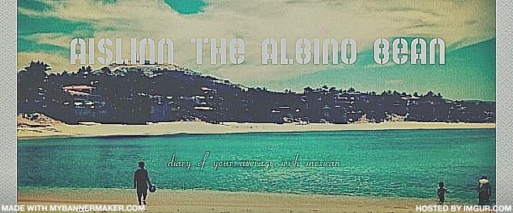 Aislinn the Albino Bean
