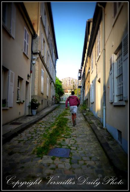 Rue de l'Ermitage Versailles alley