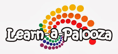 Logo: Learn-a-Palooza at the Medford library in Jackson County, OR
