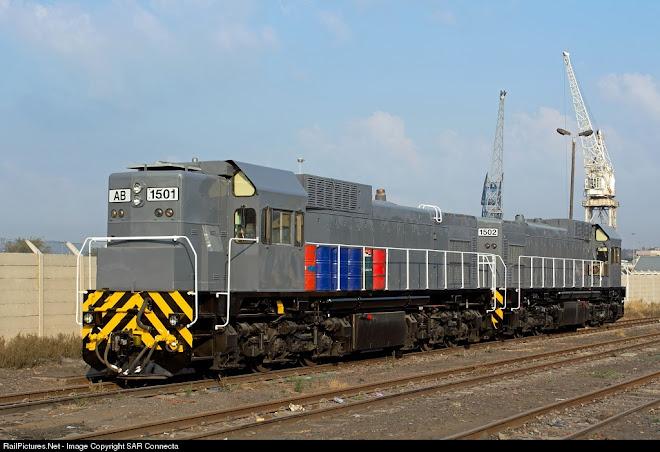 Ex QR National Rail AB 1501 / AB 1502