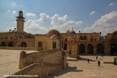 Plaza de las mezquitas en Jerusalén - Viaje a Israel
