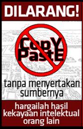 Dilarang Copy Paste Tanpa Ijin