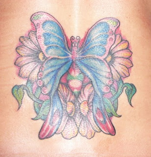 Butterfly Flower Tattoo Picture