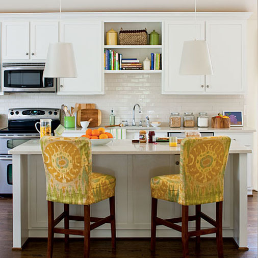 White Kitchen No Windows kitchen refacing before and after | kitchen cabinet refacing