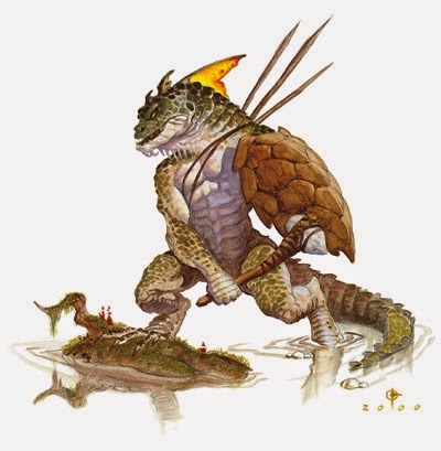 All Things Gaming 5th Edition Monstrous Pcs Lizardfolk