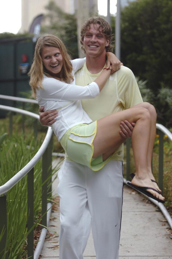 Tomas Berdych and Lucie Safarova - Tennis Couples