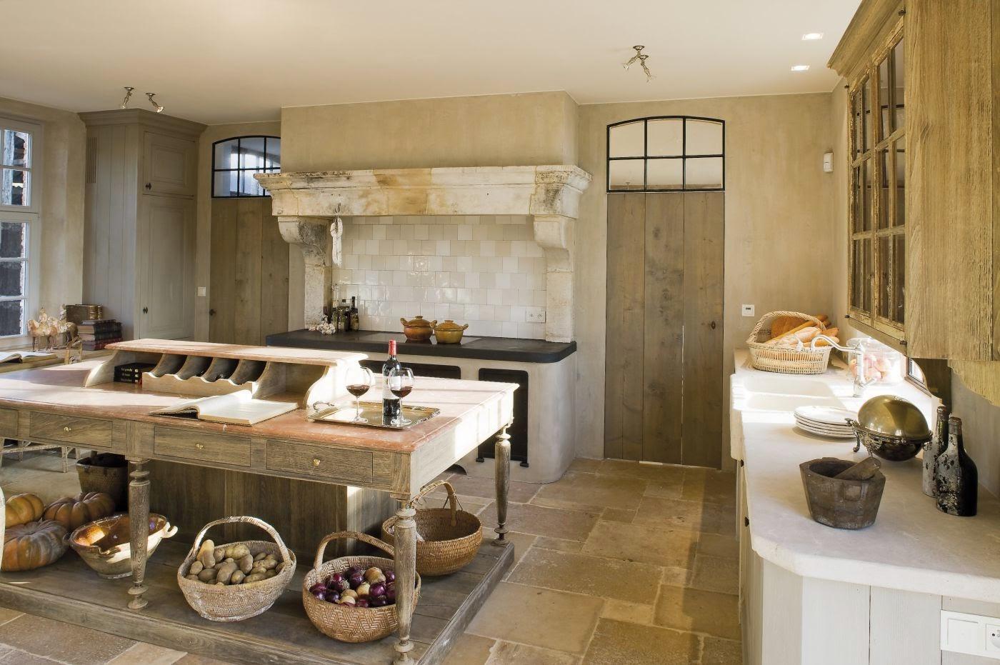 Ma maison au naturel cuisines l 39 ancienne - Deco oude keuken ...