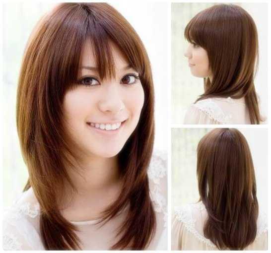 Model Rambut Untuk Wajah Bulat Dan Tembem - Gaya rambut pendek depan