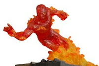 Human Torch (Marvel Comics) Character Review - Statue Product