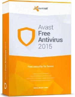 boîte du logiciel Avast Free Antivirus 2015