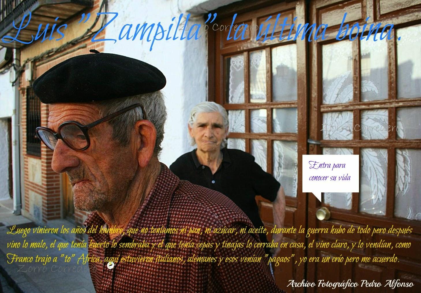 "Luis ""Zampilla"" la última boina."