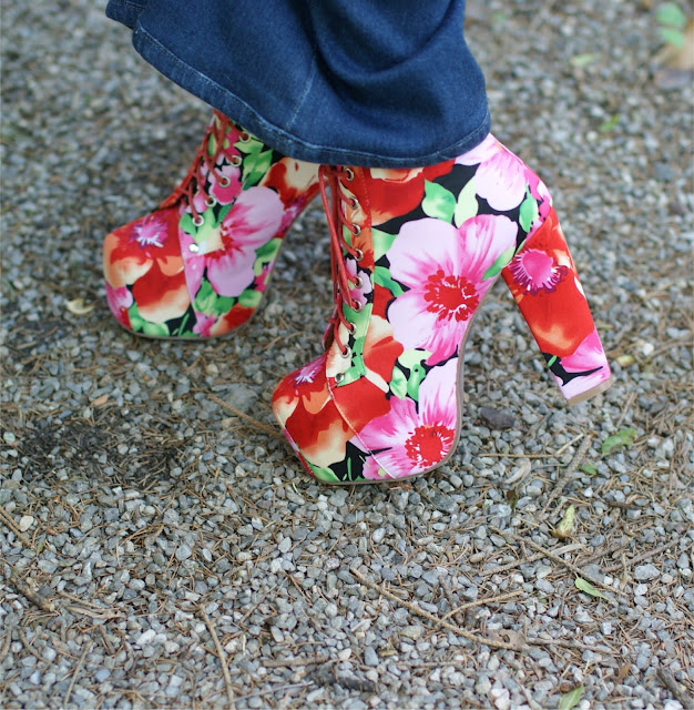 Jeffrey Campbell Lita shoes, flower print Lita shoes, Lita flower, Fashion and Cookies
