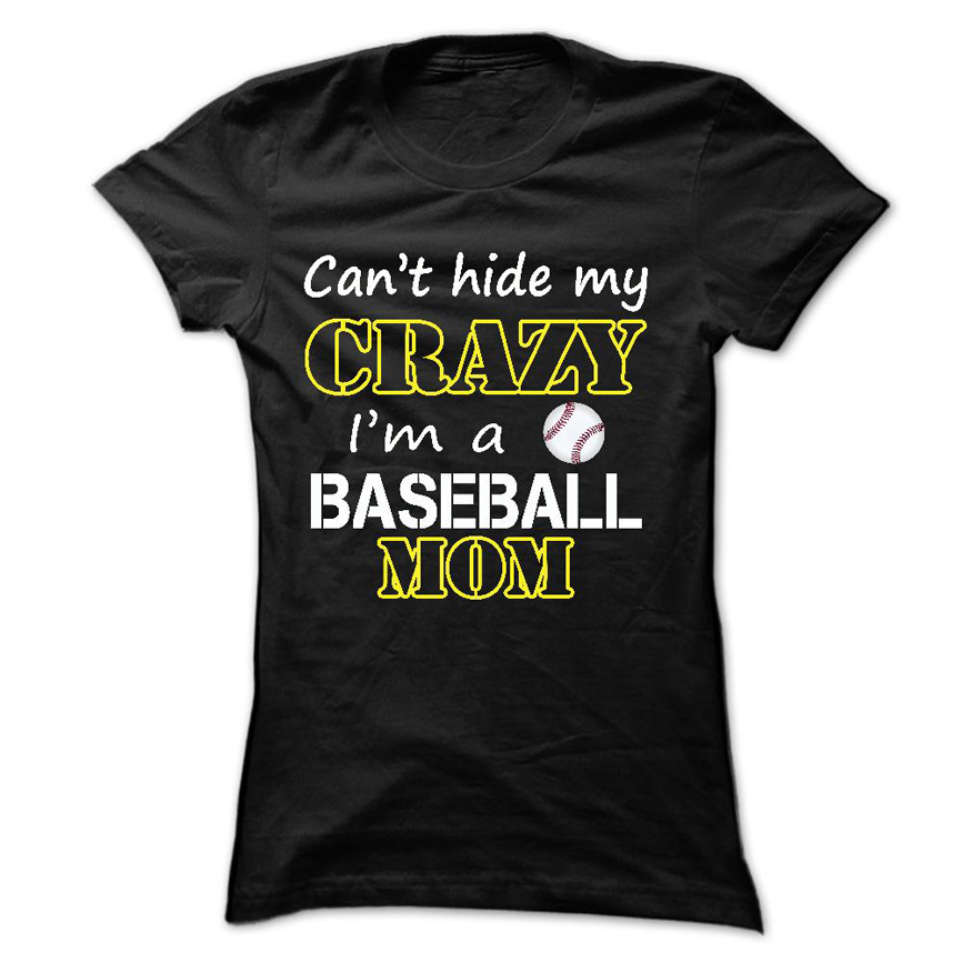 Im A Baseball Mom Mothers Day T Shirt